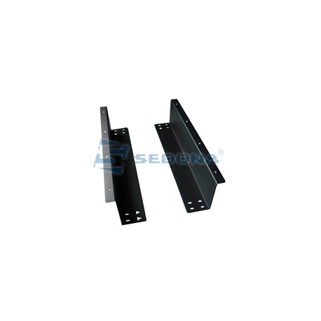 Under counter mounting brackets for cash drawer