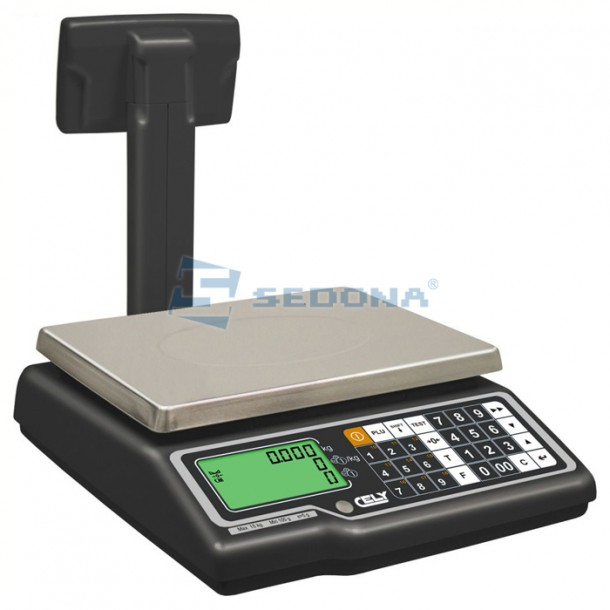 Commercial Scale Dibal G325 - 15/30 kg - with/without Pole - with Connexion - Optional Power Supply