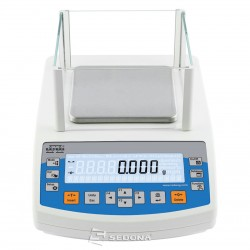 Precision balance Partner PS 210 128 x 128 mm, 210 g, 0,001g - with Metrological Approval