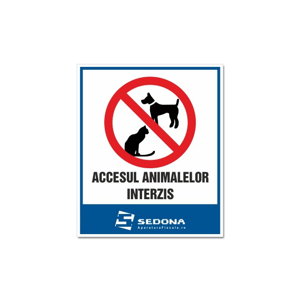 """""""Pets are forbidden"""" Sign"""