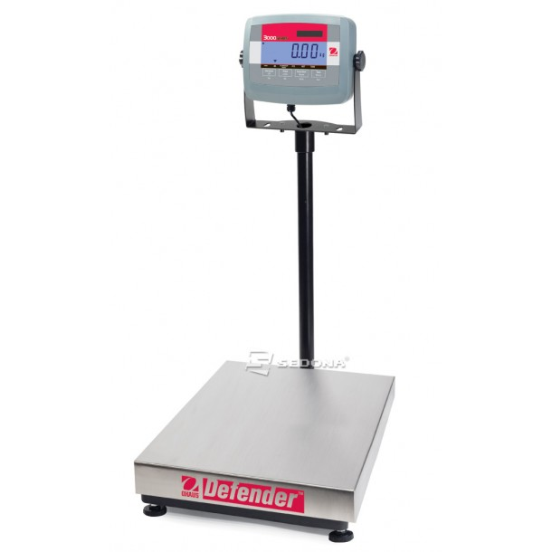 Platform Scale Ohaus Defender 3000 Stainless Steel, 55x42cm, 150kg