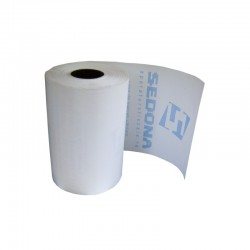 Thermal paper roll 56mm wide 25m long for taxi Microsif