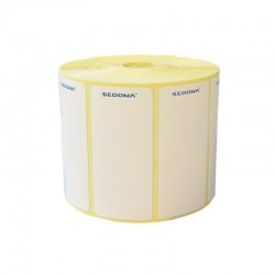 58 x 75 mm Sticker Label Rolls Direct Thermal (1000 labels/roll)