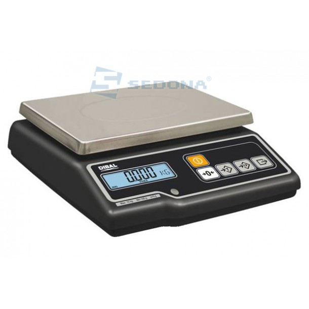 Check Weighing Scale Dibal G300 15/30 kg with Metrological approval