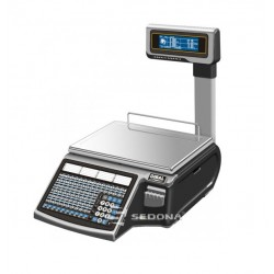 Labeling Scale Dibal Mistral M 525 With Pole