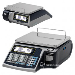 Labeling Scale Dibal Mistral M 525 Flat