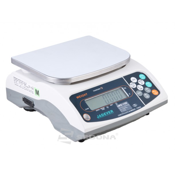 Check Weighing Scale Jadever JWG 6/15/30 kg without Metrological approval