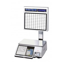 Labeling Scale CAS CL5500 Self Service