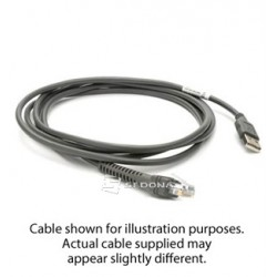 Cable - shielded USB for Zebra 3600