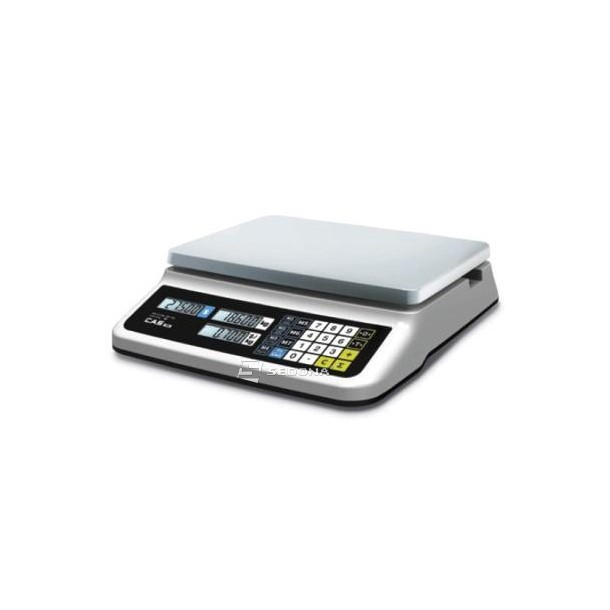 Price Computing Scale CAS PR PLUS USB Flat 15/30 kg, power supply, batteries