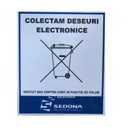 Collect Electronic Waste Sign