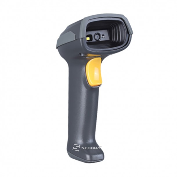 1D Wired Barcode Scanner Mindeo 6100 USB Stand