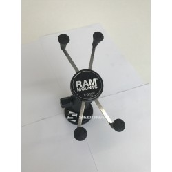 RAM MOUNT - SYSTEM X-GRIP with metalic arm and 8,5 cm suction cup for devices with a maximum diagonal of 5 ""