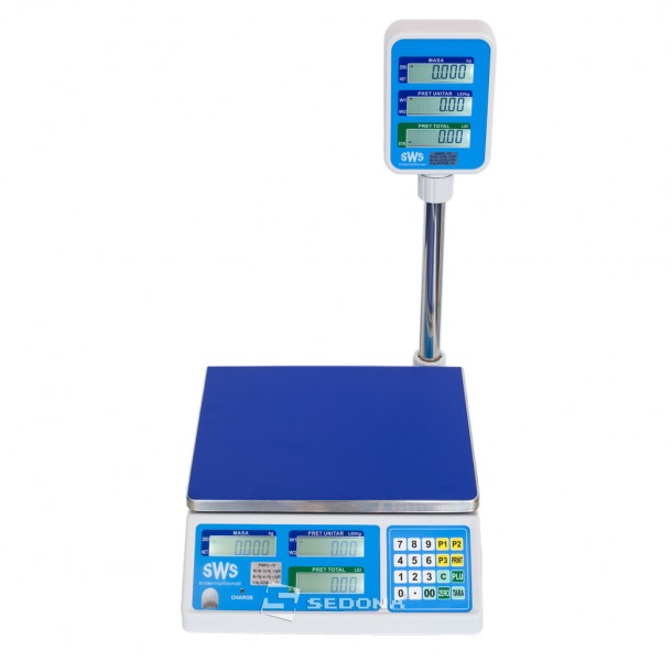 Commercial scale SWS PMKL 6/15/30 KG - Power Supply