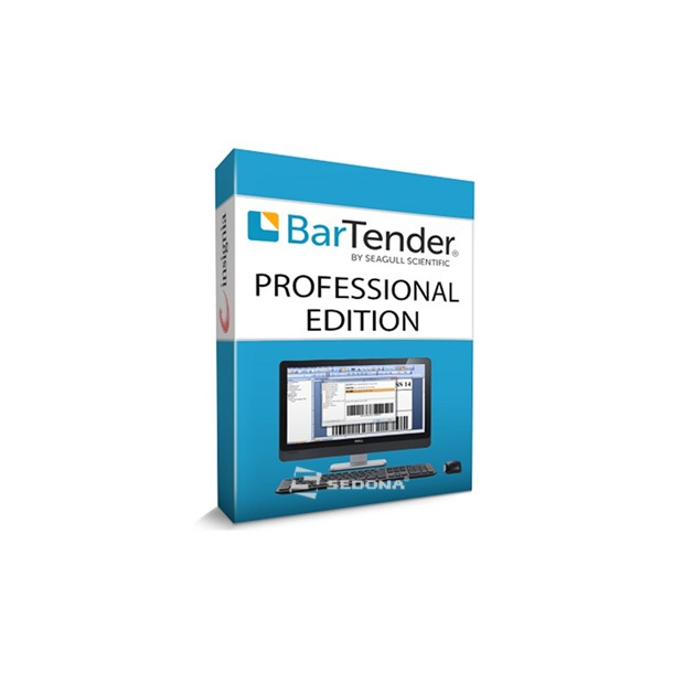 Bartender SEAGULL SCIENTIFIC Professional Edition 1 user