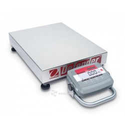 Platform Scale Ohaus Defender 3000 with handle and wheels, 60kg, 55x42cm