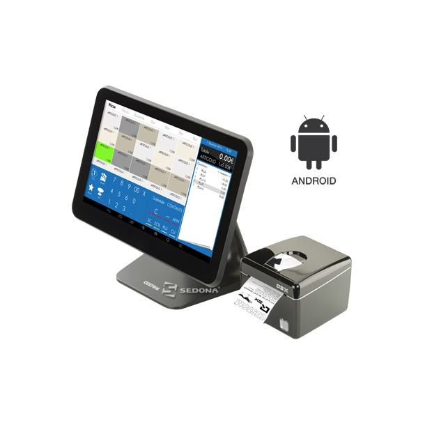 """POS All-in-One Android Custom Silk 13.3"""""""