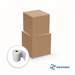 Thermal rolls pack for POS printer, 57mm wide 30m long