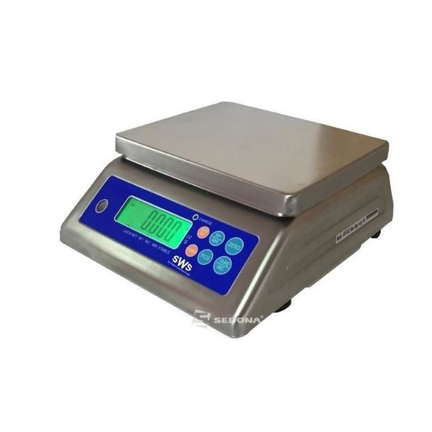 Commercial scale SWS PMK 6/15/30 kg with metrological verification