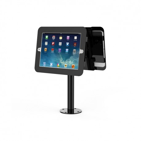 Dual stand Maken for IPAD tablet, black