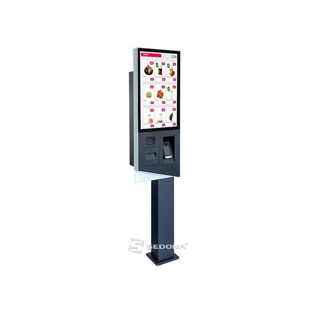 Aures KOMET Self-checkout with printer, 2D scanner and Windows 10