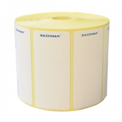 56 x 25 mm Sticker Label Rolls Direct Thermal (1000 labels/roll)