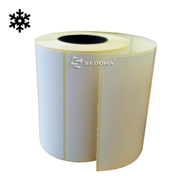 Cold Resistance Sticker Label Rolls Thermal Transfer 58 x 60 mm (1000 labels/roll)