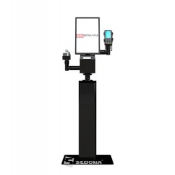 Floor stand for monitor, printer, terminal pos