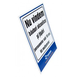 We Do Not Sell Cigarettes to Minors Sign