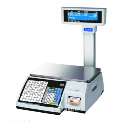 Labeling Scale CAS CL5200 With Pole