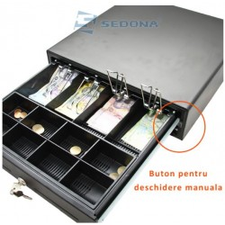 Cash drawer - Large - with button on front