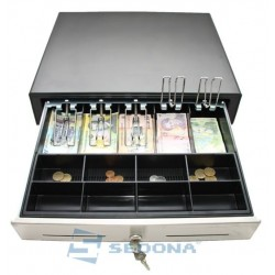 Cash Drawer Extra Large with Stainless Steel Front